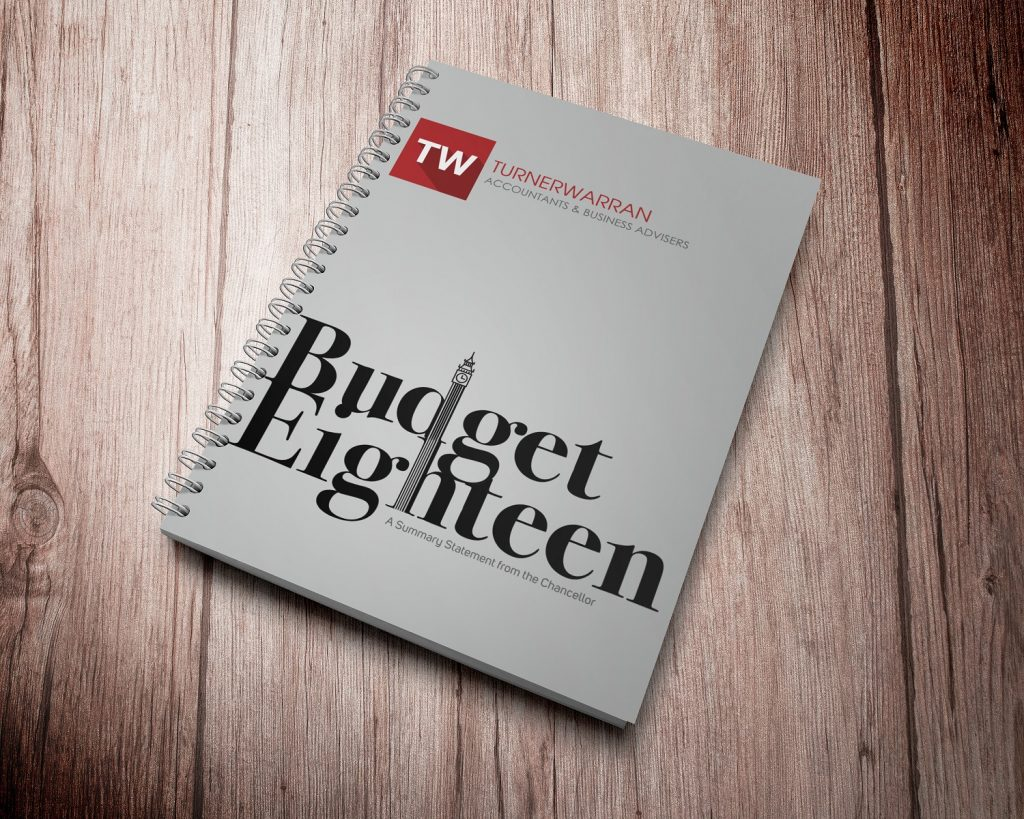 TurnerWarran Budget Eighteen